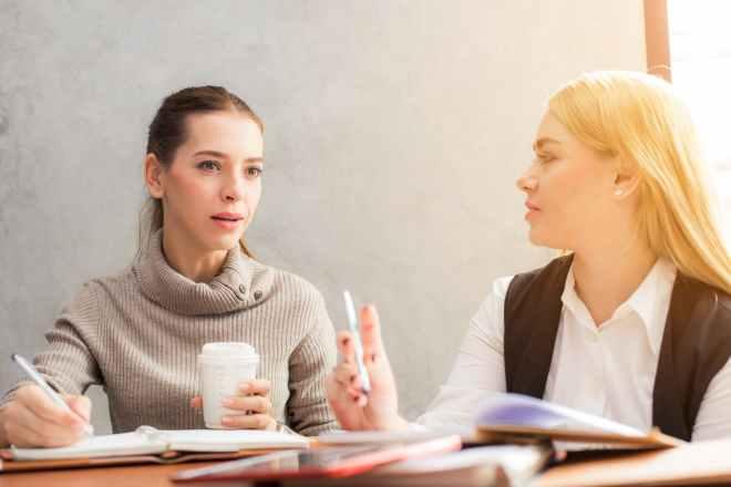 beautiful businesswomen career caucasian